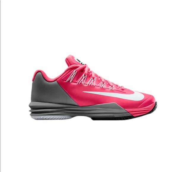 mientras audiencia Escudriñar  Nike Shoes | Womens Nike Lunar Ballistec Tennis Pink Size | Poshmark